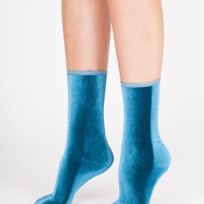 Velvet Sock's Aqua