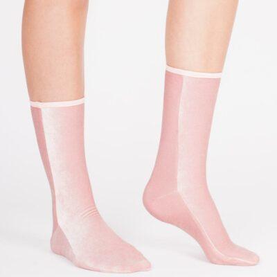 Velvet Sock's Light Pink