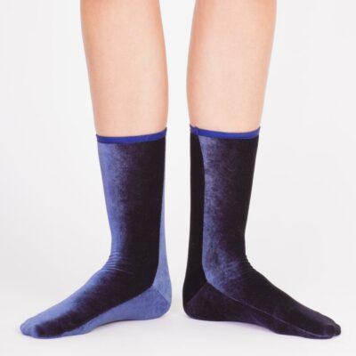 Velvet Sock's Navy
