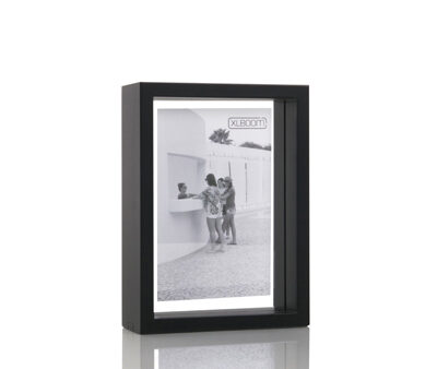 Floating Box Frame – Coffee Bean