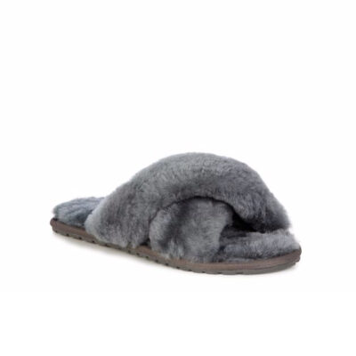 Mayberry Slipper – Charcoal