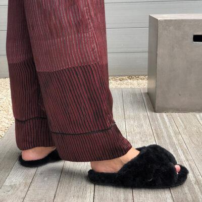 Mayberry Slipper – Black