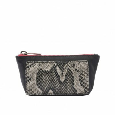 Wallet Zippy Black Python