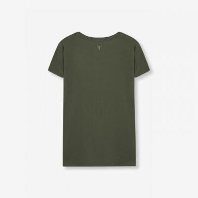 Boxy T-Shirt – Dusty Green