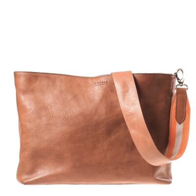 Olivia – Orange Webbing Shoulder Strap