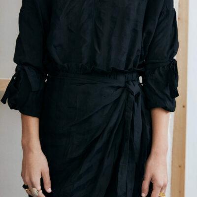 Seya wrap skirt
