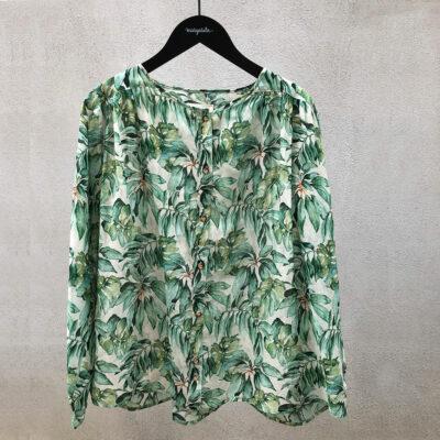 Alyssa blouse 'palm green'