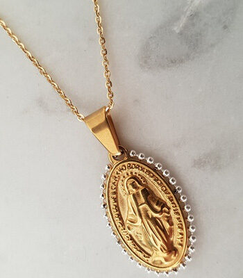 Maria Pendant Necklace Gold
