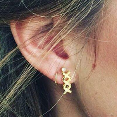 Amsterdam Earring Gold