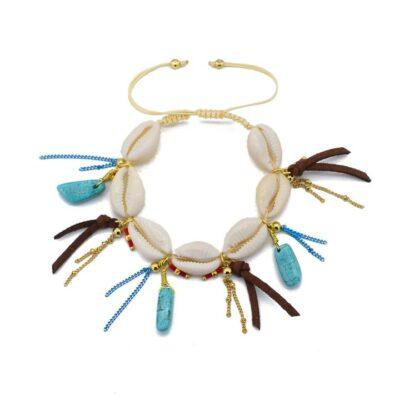Shell Tassel Bracelet