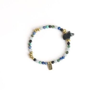 Gemstone Bracelet Bear