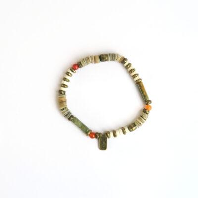 Shell Discus Bracelet