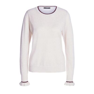 Lurex Shirt With Frill Details