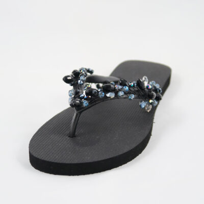 Black Amazon Slipper