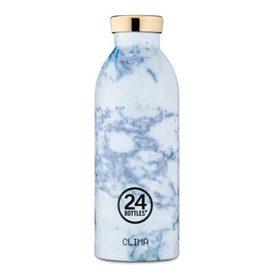 Clima Bottle White Marble