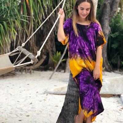 Tie Dye T-shirt Dress 17