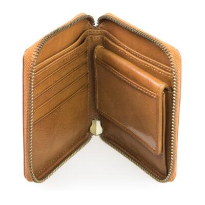Sonny Square Wallet – Cognac