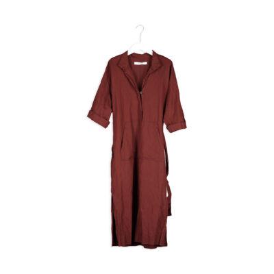 Elyce Dress Maroon