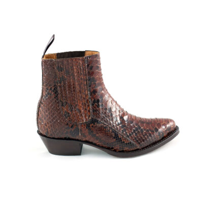Piton Avellana Brown Ankle Boots