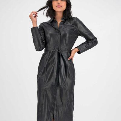 Spencer Leather Dress