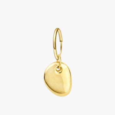 Pebble Earring Gold