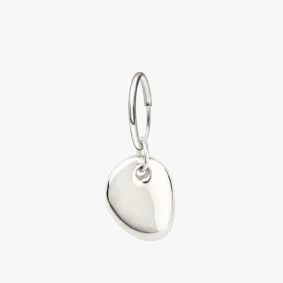 Pebble Earring Silver