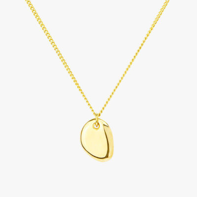 Pebble Necklace Gold
