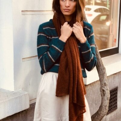 Ava Scarf – Dark Rust