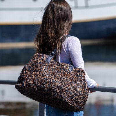 Gabrielle M Bag Black & Brown