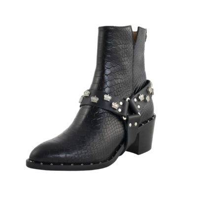 Crown Studded Boot Halter