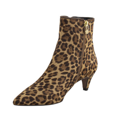 Leopard Print Ankle Boot