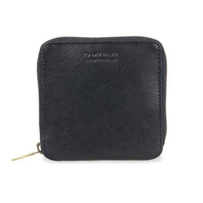 Sonny Square Wallet – Black