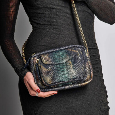 Charly Bag New Metallique Peacock