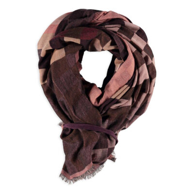 Wario Wrap with Print – Wine