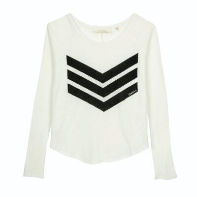 Yann Logo Tee – White