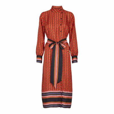 Tiles Midi Dress