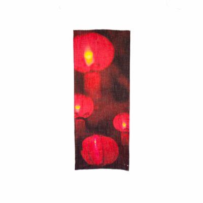 Red Lantern Rectangular