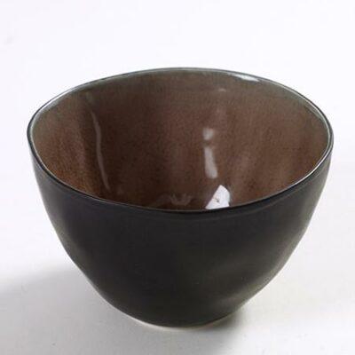 Medium Brown Ceramic Pure Bowl