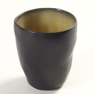 7.5 x 9 cm Green Ceramic Pure Cup