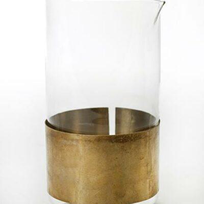 9 x 9 cm Copper Karaf