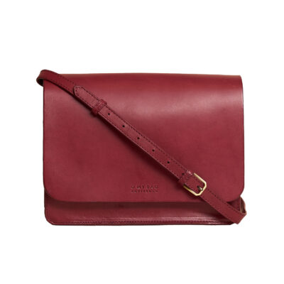 Audrey Ruby Classic Leather