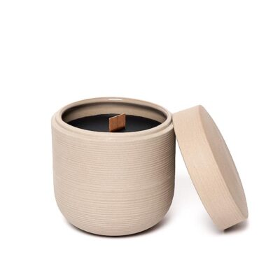 Lines Natural Scented Candle