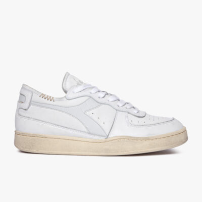 Diadora Heritage Mi Basket Row Cut – White