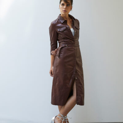 Freedom Fire Dress – Rodeo Brown