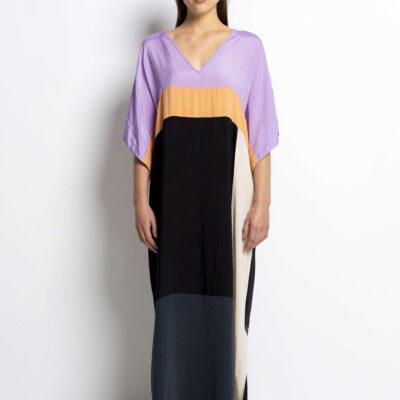 Deya Dress – Violet Mix
