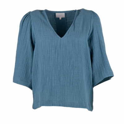 Louise Top – Blue