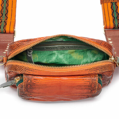 Small Charly Bag – Orange with Strap