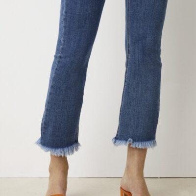Mariela Edge Jeans – Caspar Blue