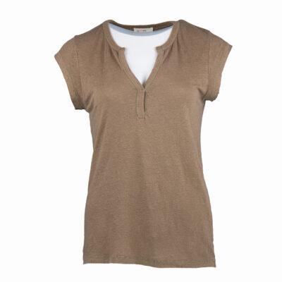 Beca T-shirt – Camel
