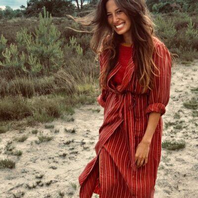 Gaia Dress – Stone Red